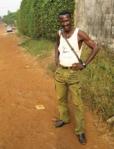 Sayon Camara in Simbaya Gare, Conakry