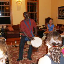 Sayon Teaching at Resounding Rhythms in Bath ME