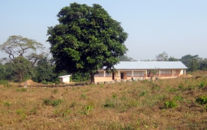 New school in Kouya Sidia, Sayon Camara's village, 2014