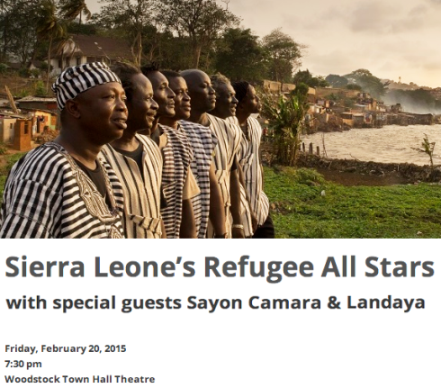Sierra Leone's Refugee All Stars Sayon Camara & Landaya